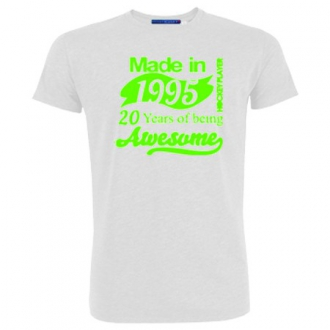 T-Shirt HP 20 Years Green