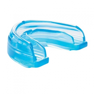 Mouthguard Shock Doctor for braces Blue