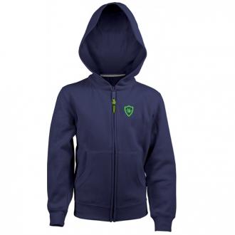 Sweat Toledo full zipper Kids Navy/Green