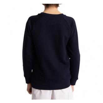 Kids Sweater Pink Star Navy Melange