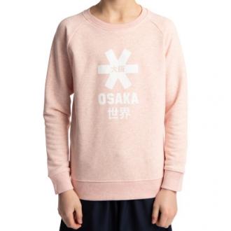 Kids Sweater White Star Cream Pink